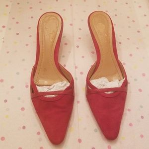 Red Ann Taylor Shoes